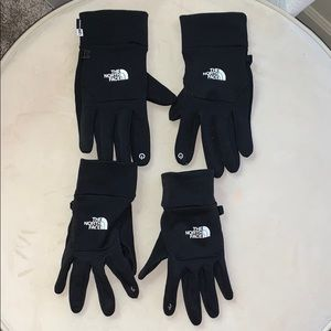 The North Face E-Tip Gloves Men (L) and Women (M)